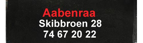 område telefon numre